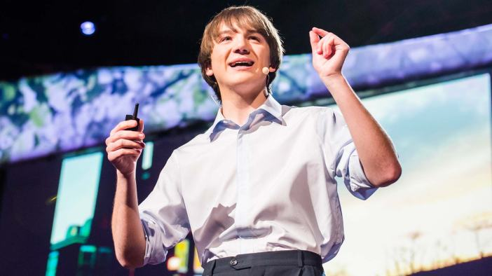 Jack Andraka (Copyright TED Inc.)
